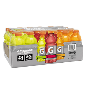Gatorade Sports Drinks Variety Pack (20 oz. bottles, 24 ct.)