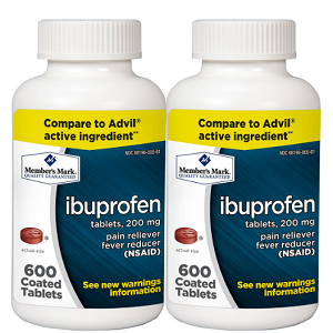 200 mg Ibuprofen (600 ct., 2 ct.)