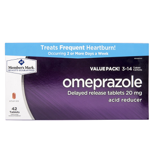 Omeprazole Acid Reducer (42 ct.)