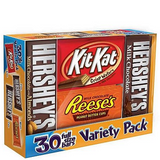 Hershey's Variety Pack, Full Size (30 ct.)
