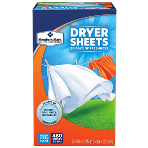 Fabric Softener Sheets (480 ct.)