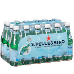 S.Pellegrino Sparkling Natural Mineral Water (0.5 L bottles, 24 ct.)