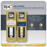 RoC Day & Night Anti-Aging Routine (1.0 fl. oz., 2 pk.)