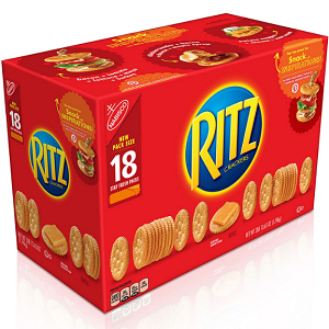 Nabisco Ritz Crackers (3.43 oz., 18 ct.)