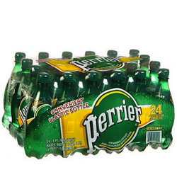 Perrier Sparkling Natural Mineral Water (16.9 oz. bottles, 24 pk.)