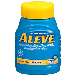 Aleve Naproxen Sodium Tablets (320 ct.)