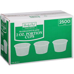 2 oz. Portion Cups (2,500 ct.)