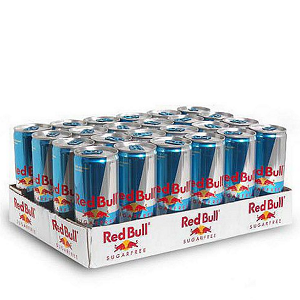Red Bull Sugar Free Energy Drink,8.4 oz. (24 pk.)