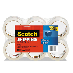 Scotch 3850 Heavy Duty Shipping/Packaging Tape, 1.88