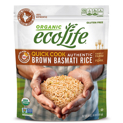 EcoLife Quick Cook Authentic Brown Basmati Rice (4 lbs.)
