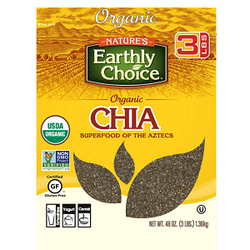 Nature's Earthly Choice Organic Chia (3 lb.)