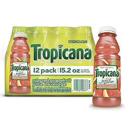 Tropicana Ruby Red Grapefruit -12/15.2 oz. btls.