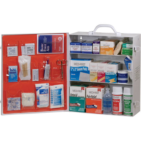 First Aid Cabinet, Medique 3-Shelf First Aid Cabinet
