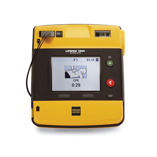 Physio-Control LIFEPAK® 1000 Defibrillator ECG Display