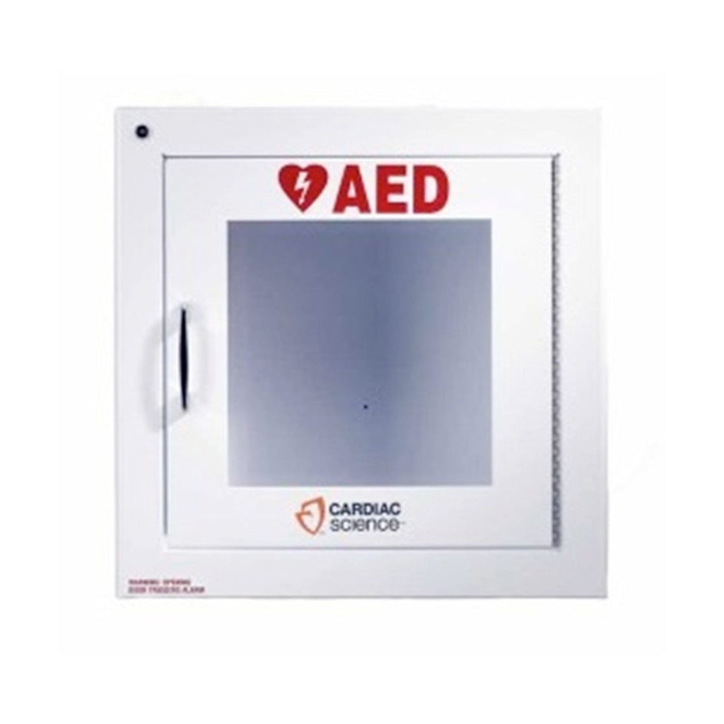 Cardiac Science Wall Mounted AED Cabinet with Alarm