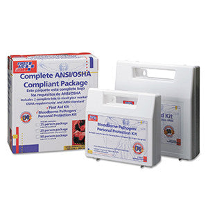 First Aid Kit for 50 People Includes 229-Pieces and Plastic Case by First Aid Only