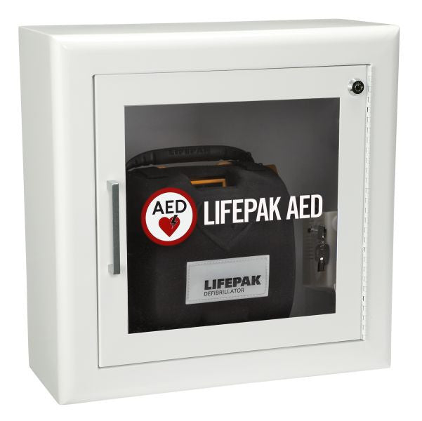 LifePAK Wall Mounted AED Cabinet with Alarm