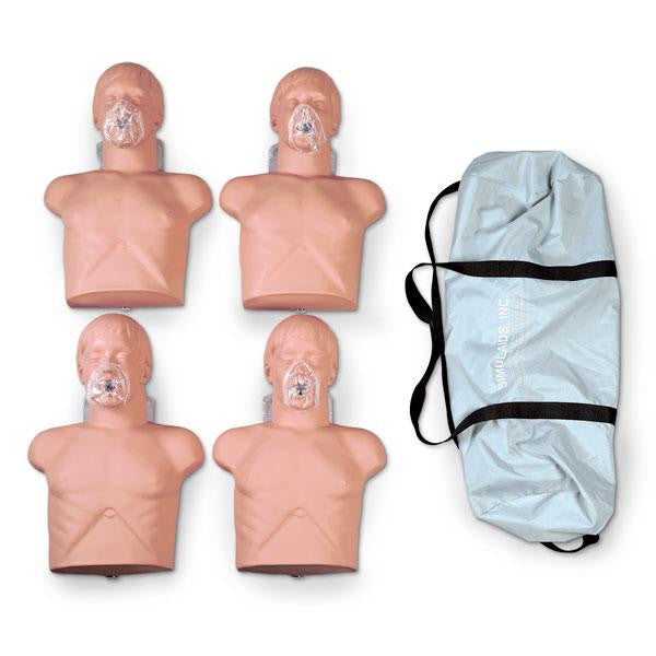 Economy Adult Sani Manikin 4 Pack With Carry Bag