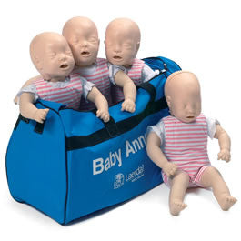 Manikin Training Baby Anne® with Case (4/pk)