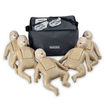 CPR Prompt® Infant 5-Pack TAN Mannequin Training CPR