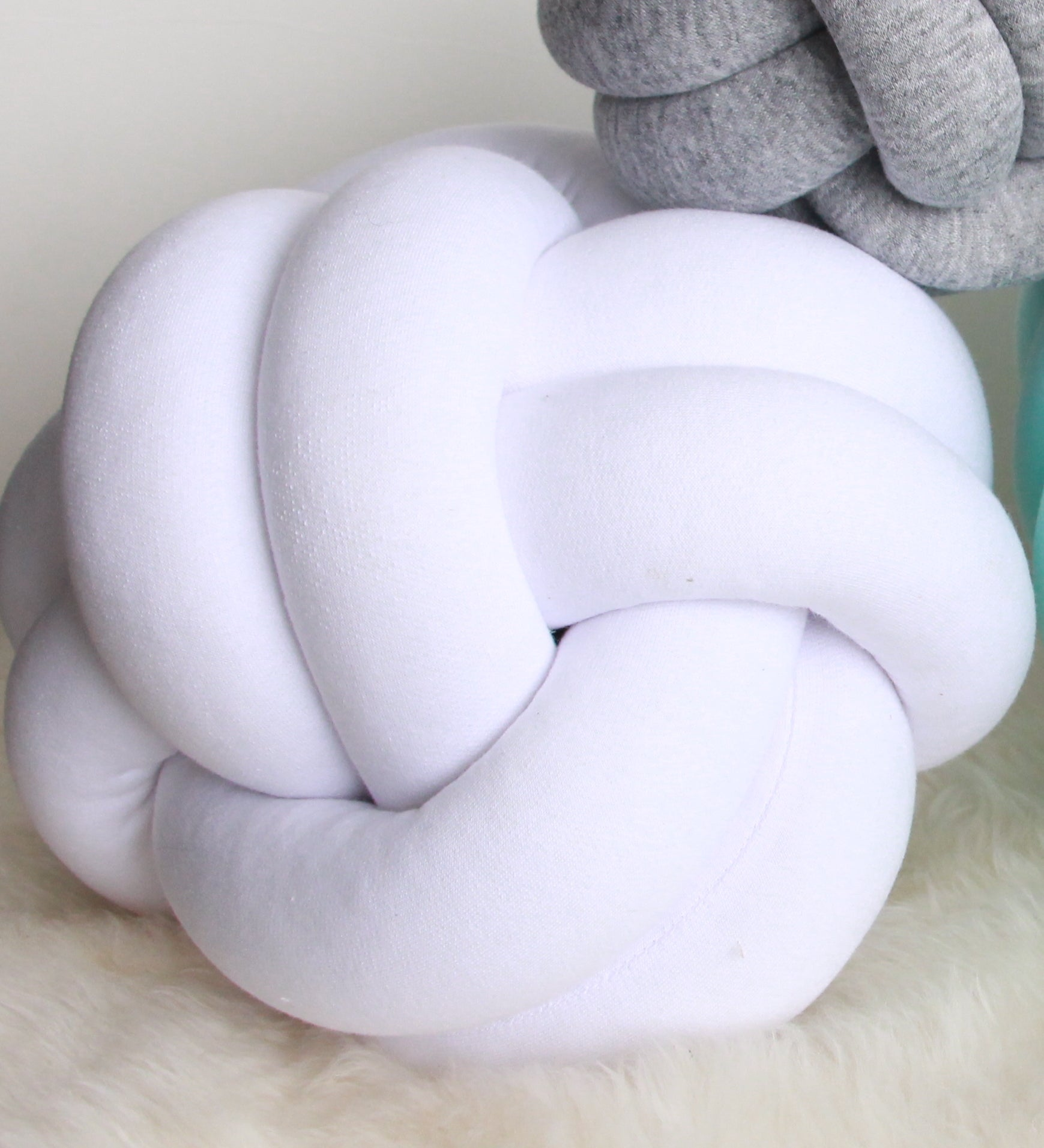 Medium Sphere Knot Pillow - See more Knot Pillows & Cushions at JujuAndJake.com