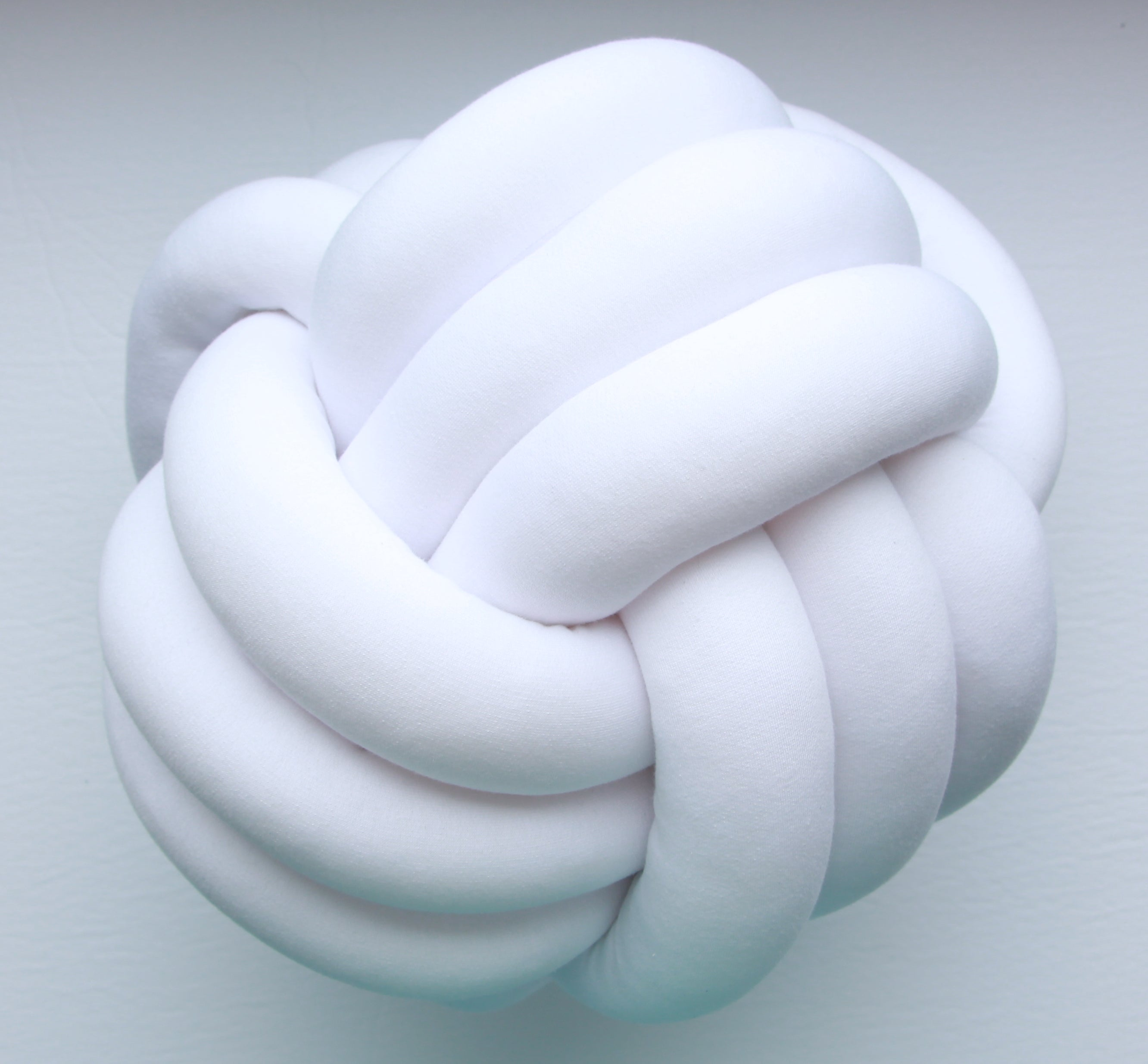 Grande Sphere Knot Pillow - See more Knot Pillows & Cushions at JujuAndJake.com