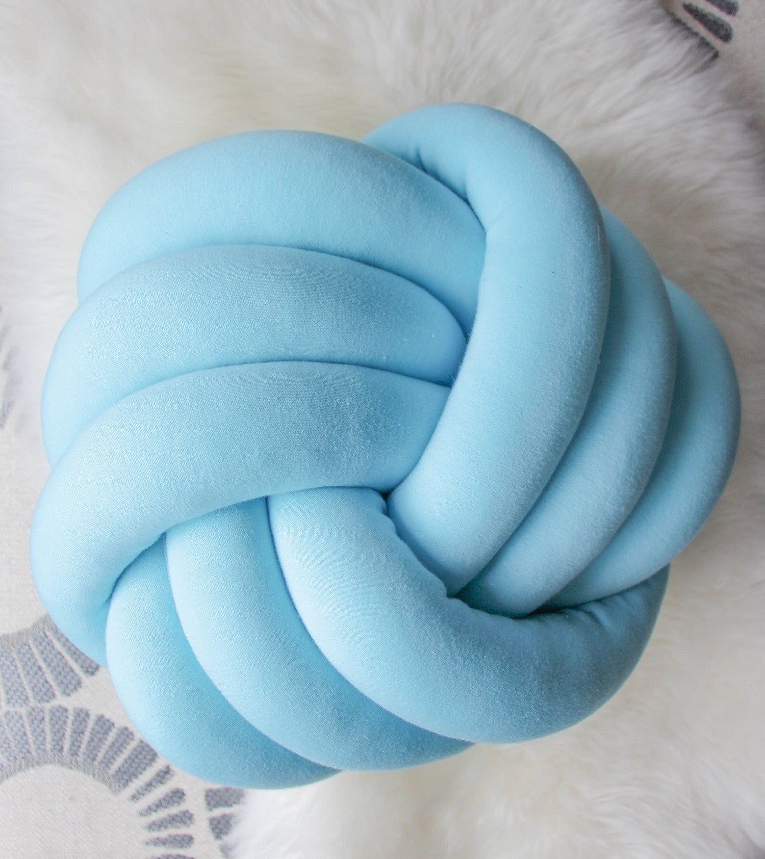 Swirl Knot Pillow - See more Knot Pillows & Cushions at JujuAndJake.com
