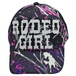 muddy girl rodeo girl horse ballcap cap hat