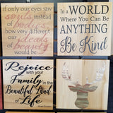 custom signs personalize natural rustic handmade gift say anything