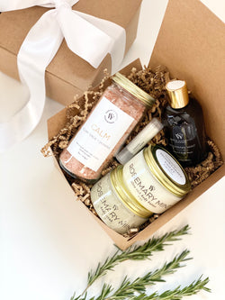 Uplifting Rosemary Mint Gift Set - Earth Elements Soapworks