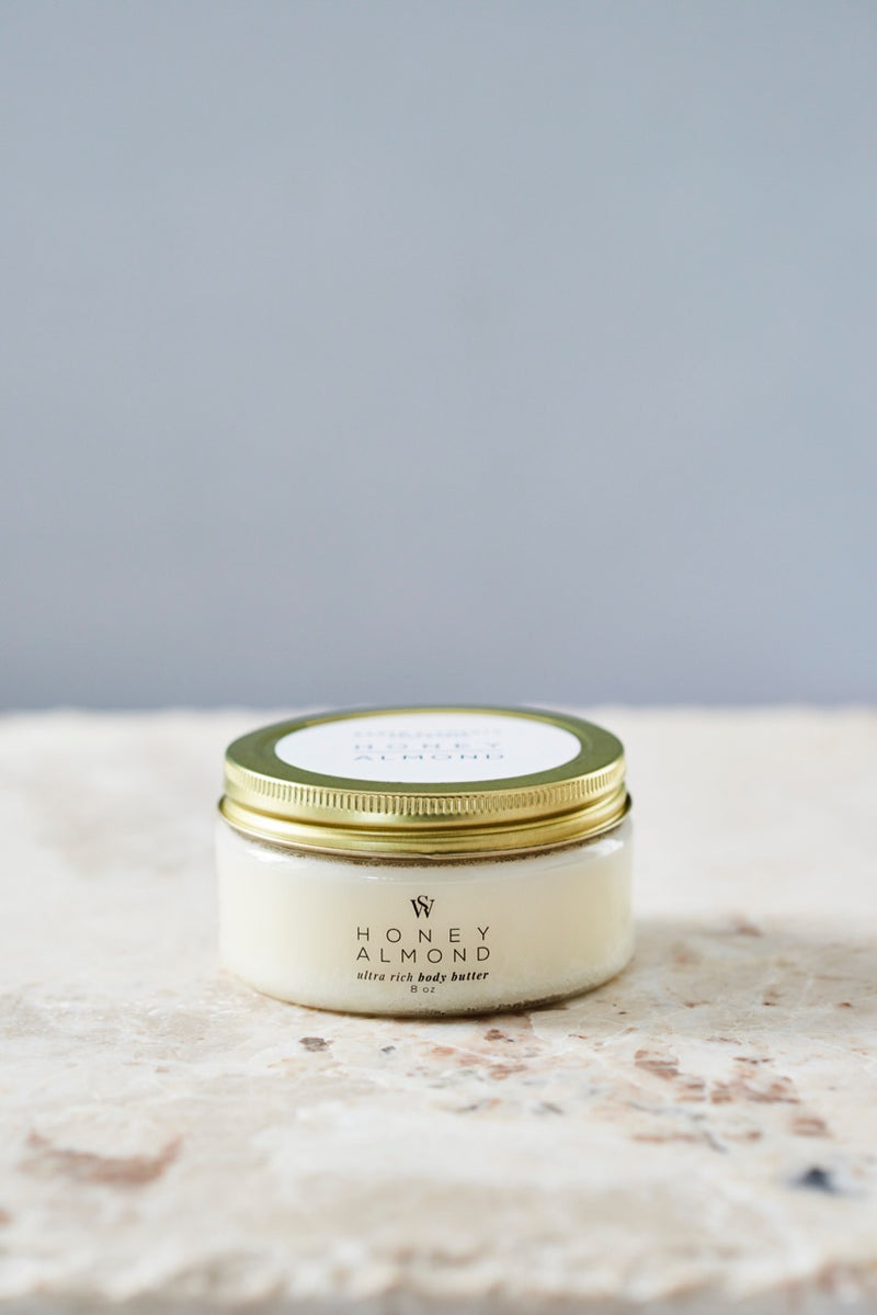 HONEY ALMOND BODY BUTTER - Earth Elements Soapworks