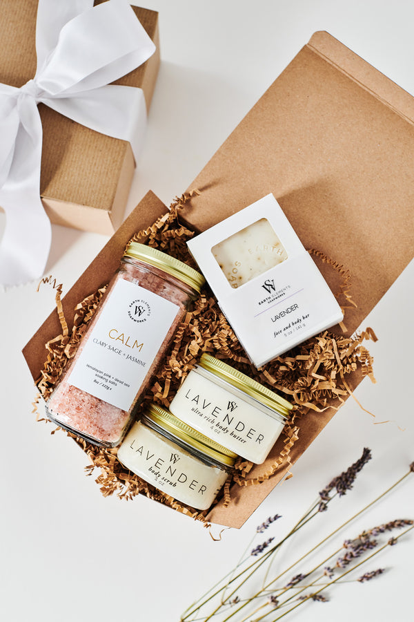 Calming Lavender Gift Set - Earth Elements Soapworks