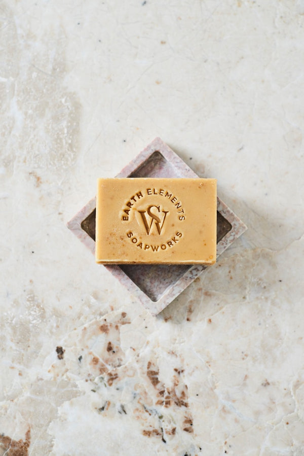 GOATSMILK + OATMEAL WITH HONEY SOAP - Earth Elements Soapworks