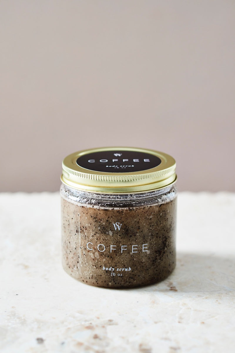 COFFEE BODY SCRUB - Earth Elements Soapworks