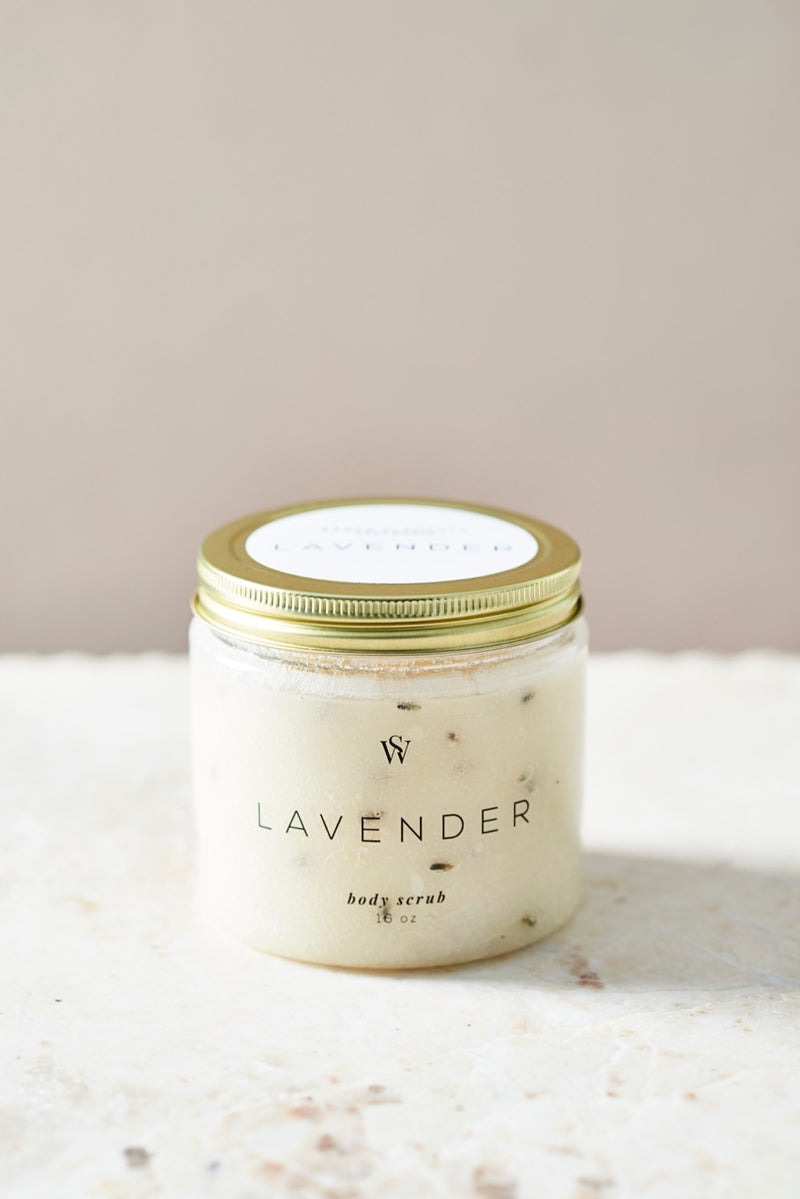 LAVENDER BODY SCRUB - Earth Elements Soapworks