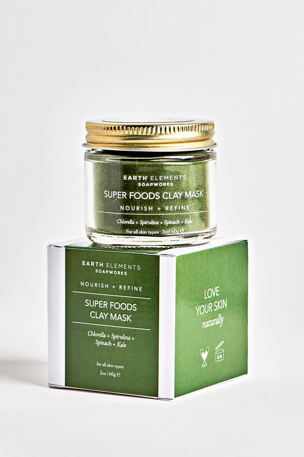 SUPERFOODS- SKIN REFINING FACIAL MASK