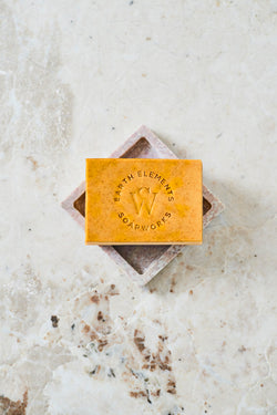 TURMERIC + CARROT WITH HONEY SOAP - Earth Elements Soapworks