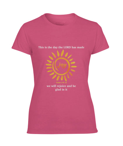 Female Joy T-Shirt (Anti Microbial and Wicking Technology)