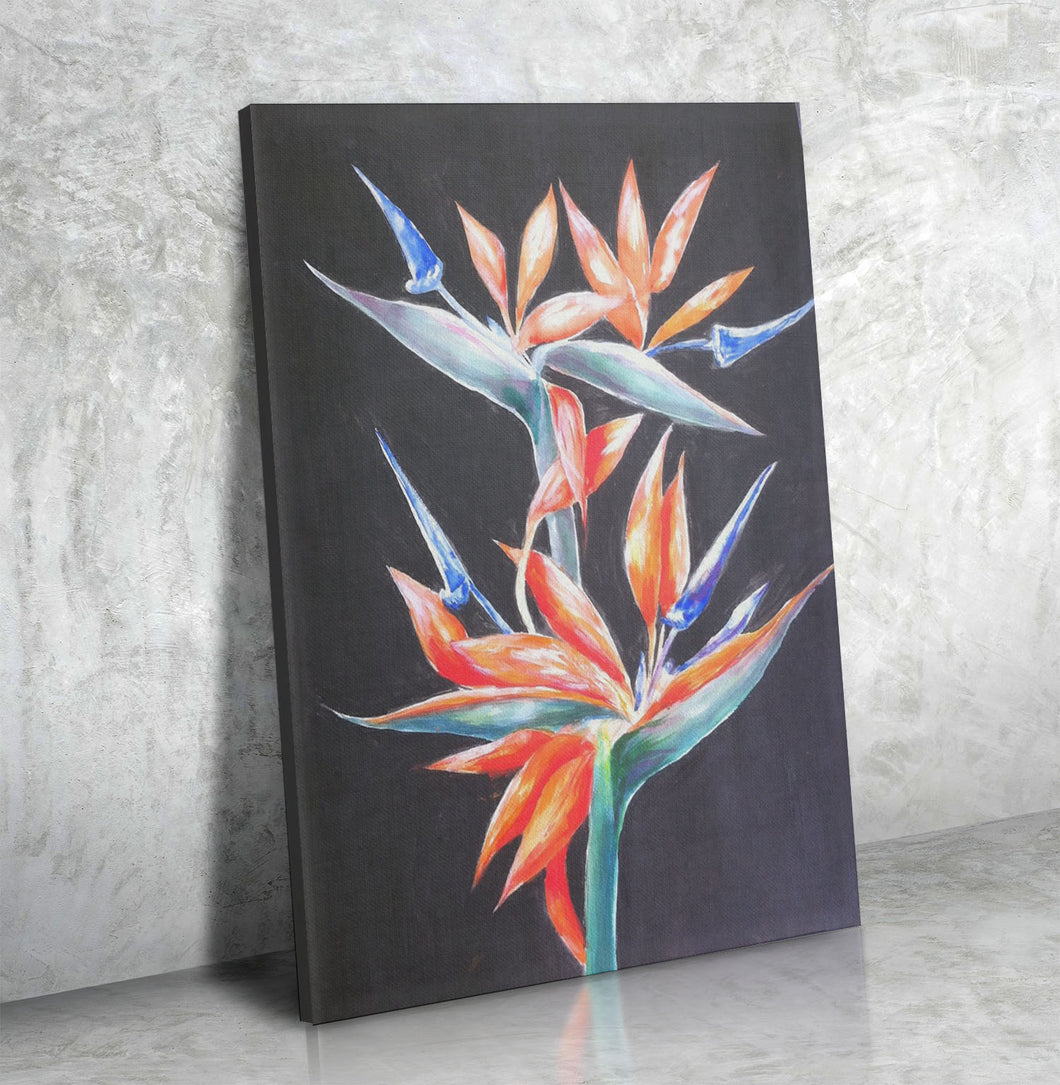 Gallery Canvas Wrap Fine Art 🌞 🏝  🎨  ' Bird of Paradise ' 🎨