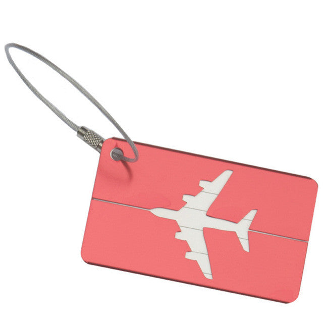 Secure Aluminum Travel Tags