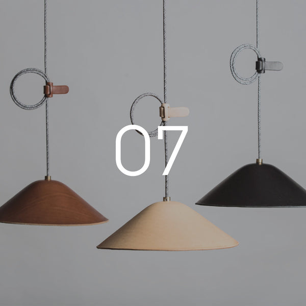 IE Francis Leather Pendant Lighting - WSworkshop Exclusive