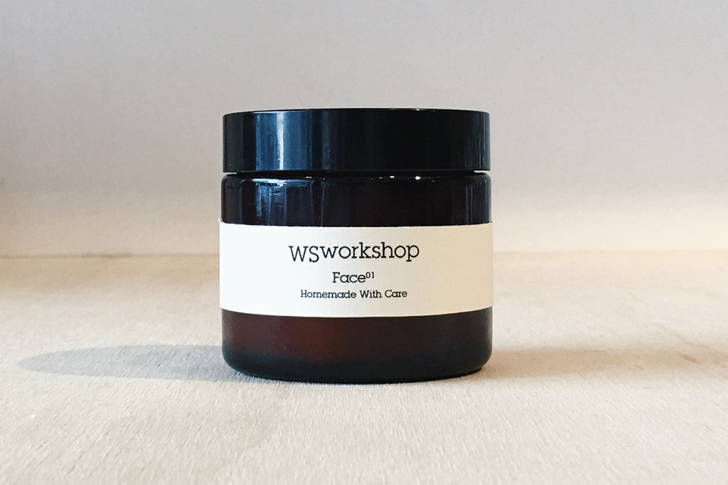 WSworkshop Journal - How To Manual - DIY Winter Moisturiser - Step 1