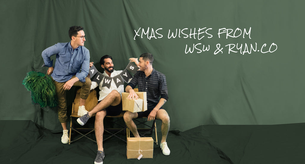 Xmas Wishes from WSw & RYAN.CO