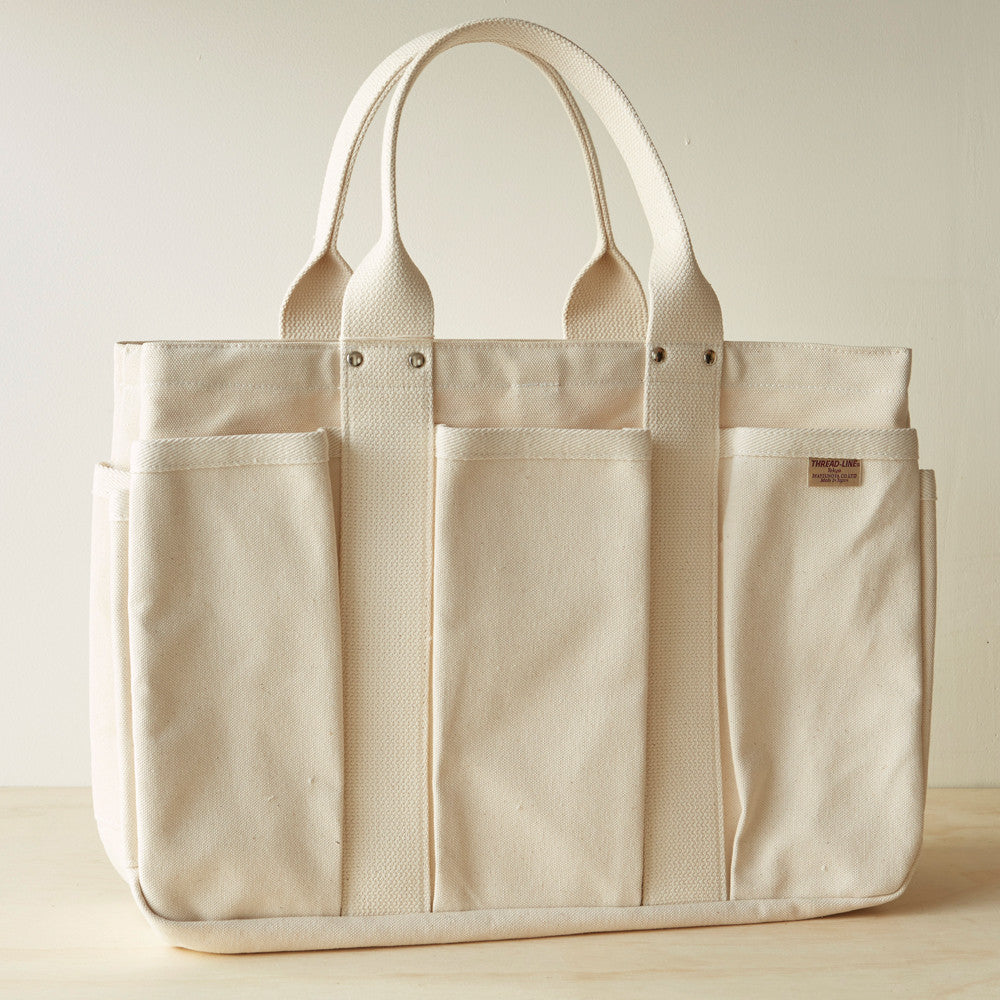 Matsunoya Natural Canvas Tool Tote