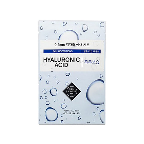 [ETUDE HOUSE] 2.0mm Theraphy Air Mask #Hyaluronic Acid