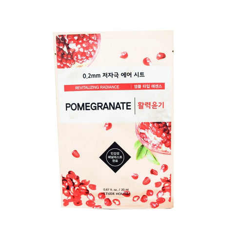 [Etude House] 0.2mm Therapy Air Mask #Pomegranate