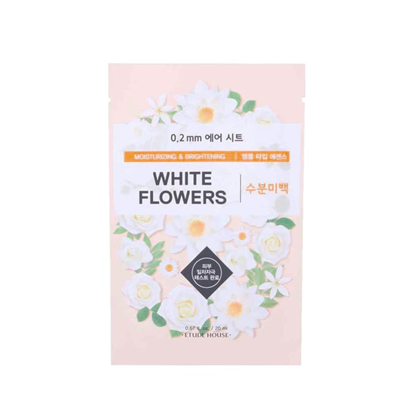 0.2mm Therapy Air Mask #White Flower