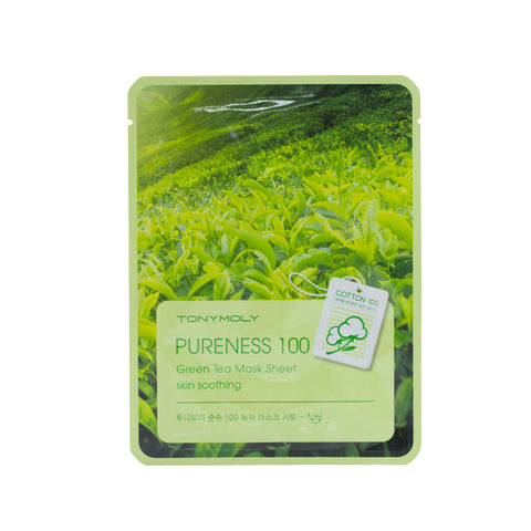 Tonymoly Pureness 100 Mask Sheet #Green Tea