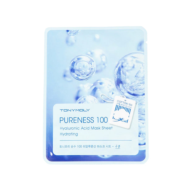 Tonymoly Pureness 100 Mask Sheet #Hyaluronic Acid