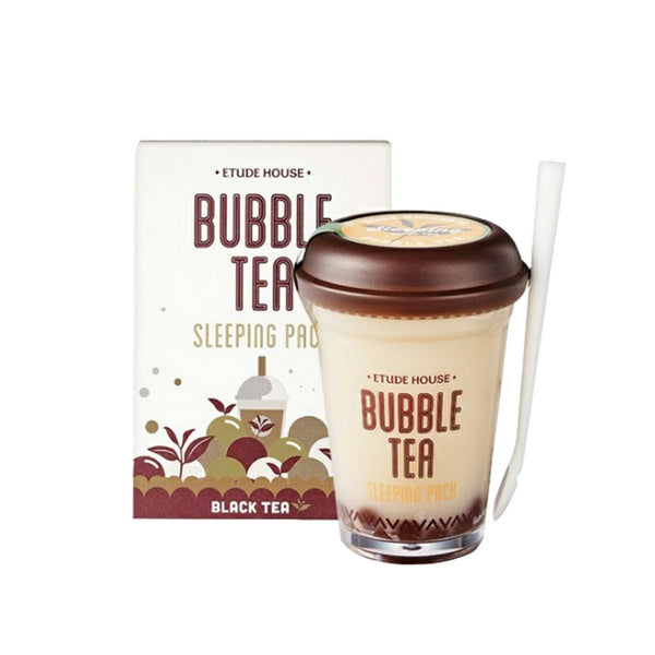 [Etude house] Bubble Tea Sleeping Pack Black Tea 100g